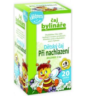 BYLINÁŘ Dětský čaj při nachlazení 20 x 1,5 g