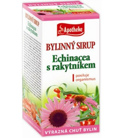 APOTHEKE sirup Echinacea s rakytníkem 250 g