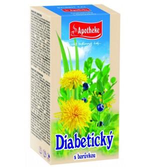 APOTHEKE Diabetický čaj 20 x 1,5 g