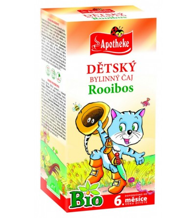 APOTHEKE Dětský čaj Rooibos BIO 20 x 1,5 g
