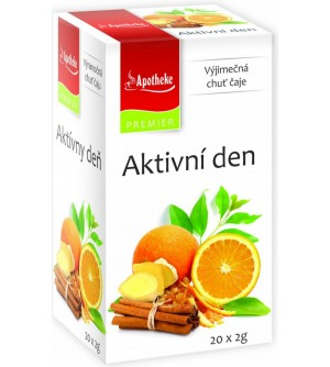 APOTHEKE čaj Aktivní den 20 x 2 g