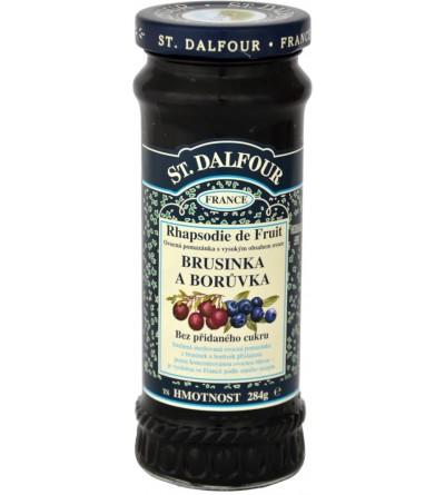 Dalfour Džem brusinka/borůvka 284 g