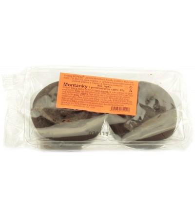 Mopeka Montánky s pomerančovou náplní 65 g