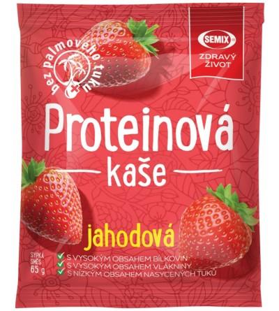 Semix Proteinová kaše JAHODA 65 g