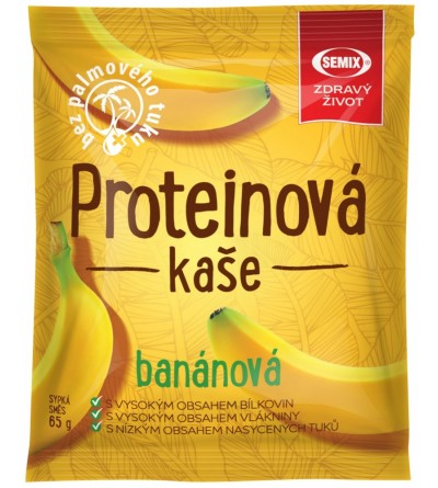 Semix Proteinová kaše BANÁN 65 g