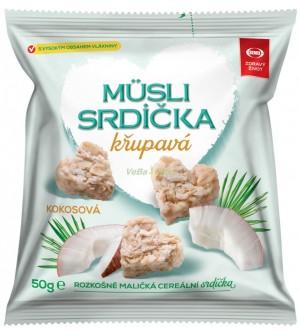Semix Musli křupavá srdíčka-KOKOS 35 % sáček 50 g