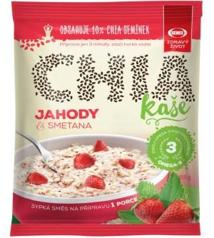 Semix Chia kaše jahoda se smetanou 65 g