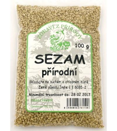ZDRAVÍ Z PŘÍRODY Sezam přírodní 100 g
