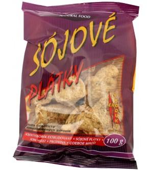 Ekoprodukt Sojové maso plátky 100 g