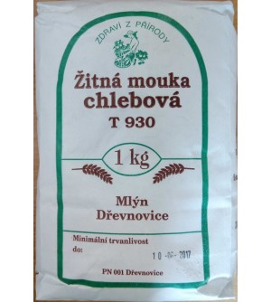 ZDRAVÍ Z PŘÍRODY Mouka žitná chlebová 1 kg