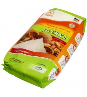 Jizerské pekárny Jizerka zelená mouka bezlepková 1 kg