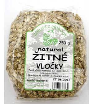 ZDRAVÍ Z PŘÍRODY Žitné vločky organic 250 g