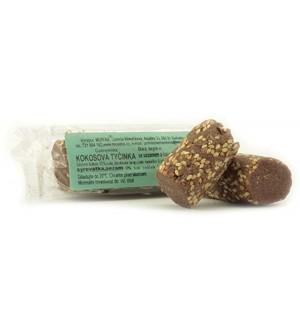 Mopeka Kokosová tyčinka sezam, kakao, bezlepková 50 g