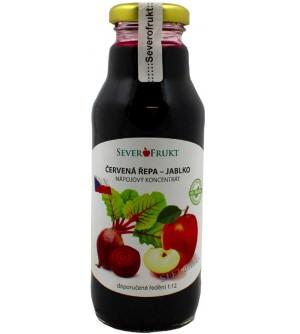 FRUIKO Koncentrát jablko - červená řepa 300 ml