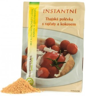 Ekoprodukt Polévka rajská s kokosem 22 g