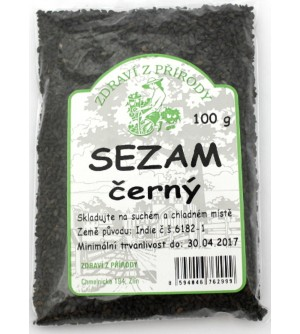 ZDRAVÍ Z PŘÍRODY Sezam černý 100 g