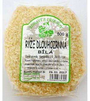 ZDRAVÍ Z PŘÍRODY Rýže dlouhozrnná bílá 500 g