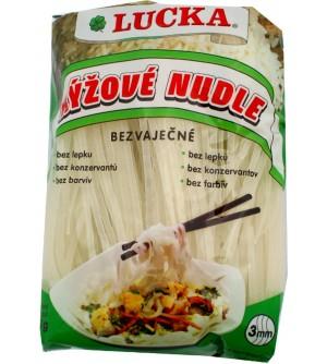 LUCKA Rýžové těstovinové nudle 3 mm bezlepkové 240 g