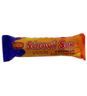 Soco Sojový suk s rozinkami 50 g