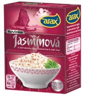 Arax Rýže jasmínová, červená - krabička 4 x 120 g