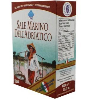 Piazzolla Mořská sůl jemná bez jódu 1 kg