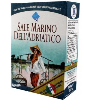 Mořská sůl hrubá bez jódu Piazzolla 1 kg