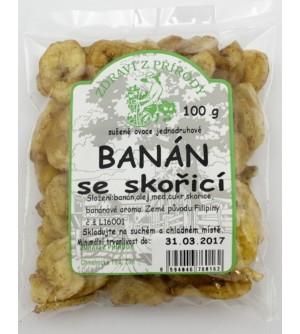 ZDRAVÍ Z PŘÍRODY Banán plátky skořice 100 g