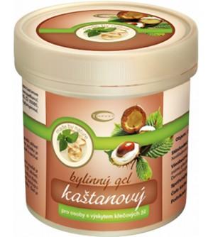 TOPVET Kaštanový masážní gel 250 ml