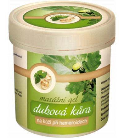 TOPVET Dubová kůra masážní gel 250 ml
