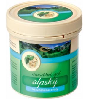 TOPVET Alpský masážní gel 250 ml