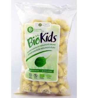 NATURAL JIHLAVA Dětské bezlepkové křupky se špenátem BIO BioKids 55 g