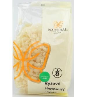 NATURAL JIHLAVA Rýžové těstoviny bez lepku kolínka 300 g