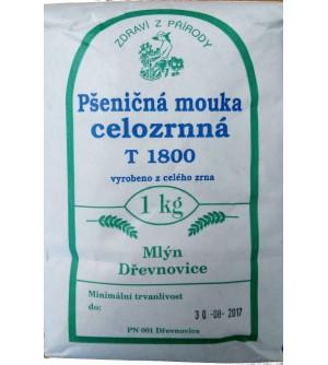 ZDRAVÍ Z PŘÍRODY Mouka pšeničná celozrnná 1 kg
