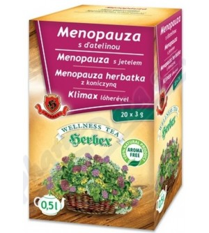HERBEX Menopauza s jetelem 20 x 3 g