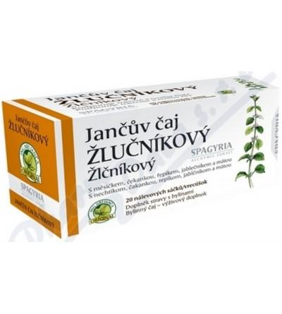 SPAGYRIA Jančův čaj žlučníkový n.s. 20 x 1.7 g
