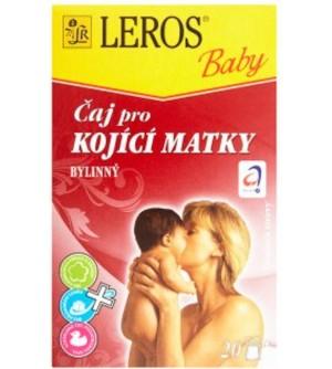 Leros Baby Čaj pro kojící matky bylinný 20 sáčků po 1,5 g