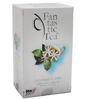 Čaj Fantastic Tea Jasmine Green 20 x 1.75 g