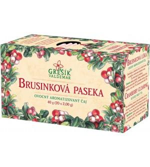 Grešík čaj Brusinková paseka 20 x 2 g