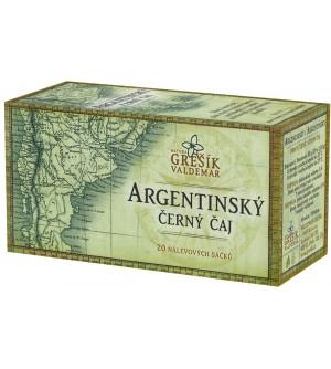 Grešík Argentinský černý čaj 20 x 2,5 g