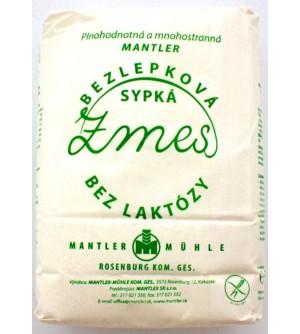 Mantler bílá bezlepková mouka 1 kg