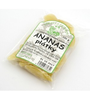 ZDRAVÍ Z PŘÍRODY Ananas plátky 100 g