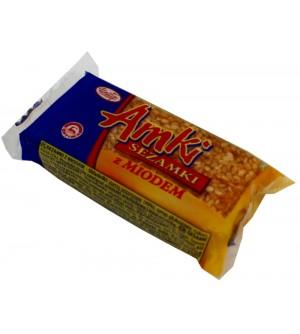 Sezamki Amki s medem 30 g