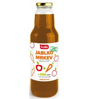 FRUIKO Koncentrát jablko-mrkev 300 ml