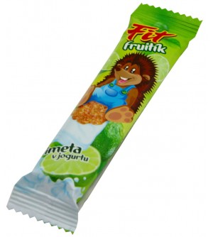 FIT Fruitík limetka v jogurtu 30 g
