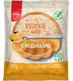 Semix Rýžová kaše s meruňkami bez lepku 65 g