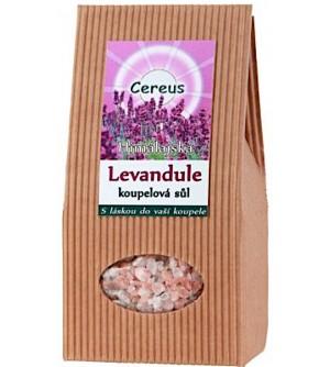 Cereus Koupelová sůl levandule 500 g