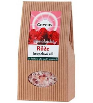 Cereus Koupelová sůl růže 500 g