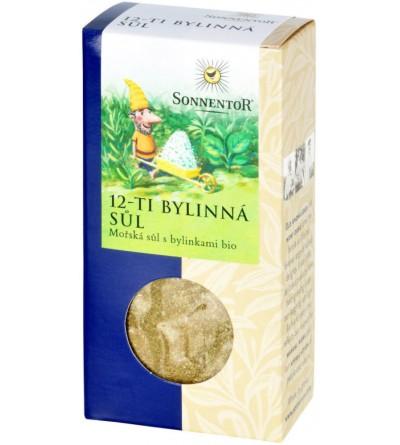 SONNENTOR BIO Sůl 12-ti bylinná 120 g