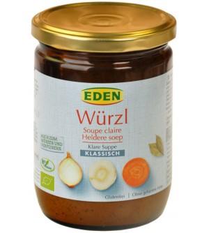 EDEN BIO Bujon zeleninový WÜRZL sklo 250 g
