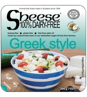 Sheese Veganská alternativa sýru Greek style bloček 200 g